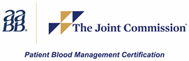 AABB and The Joint Commission - Patient Blood Management Certification